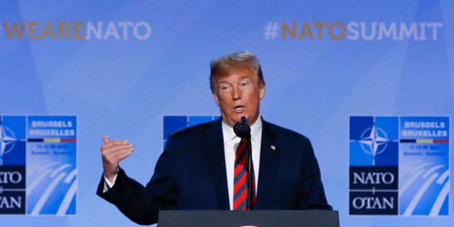 Trump attackerar londons borgmastare igen may forsvarar khan