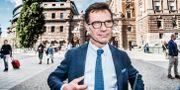 Moderaternas partiledare Ulf Kristersson.  Tomas Oneborg/SvD/TT / TT NYHETSBYRÅN