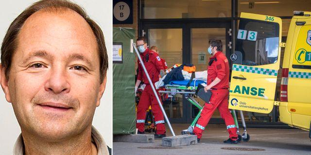 Björn Olsen/ambulans vid Ullevåls sjukhus Bildbyrån/TT