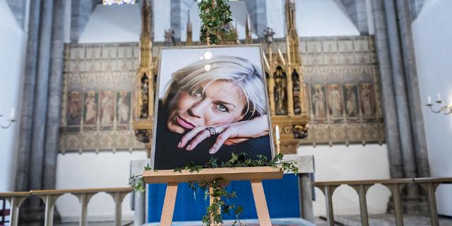 Josefin Nilsson avled 2016.  TT