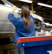 Volvo Cars fabrik i Gent, Belgien. FREDRIK PERSSON / TT NYHETSBYRÅN