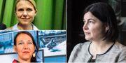 Arkivbilder: Handelsbankens ställföreträdande chef på ekonomisk analys Lena Fahlén, Nordeas chefsekonom Annika Winsth och SEB:s makroanalytiker Elisabet Kopelman.  TT