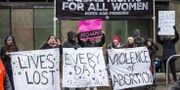Abortmotståndare demonstrerar i Washington D.C. Zach Gibson / GETTY IMAGES NORTH AMERICA