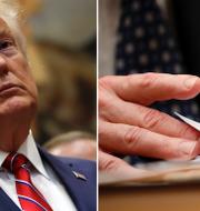 Donald Trump.  TT/AP