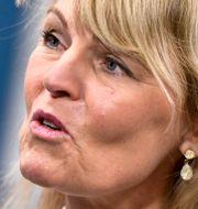 Utrikeshandelsminister Anna Hallberg (S). Arkivbild. Claudio Bresciani/TT / TT NYHETSBYRÅN