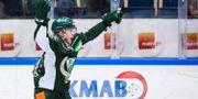 Michael Lindqvist jublar efter 3–3. FREDRIK KARLSSON / BILDBYR N