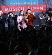 Musikhjälpen 2018 som sändes från Lund. Johan Nilsson/TT / TT NYHETSBYRÅN