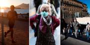 Bilder från olika delar av Italien under morgonen. TT