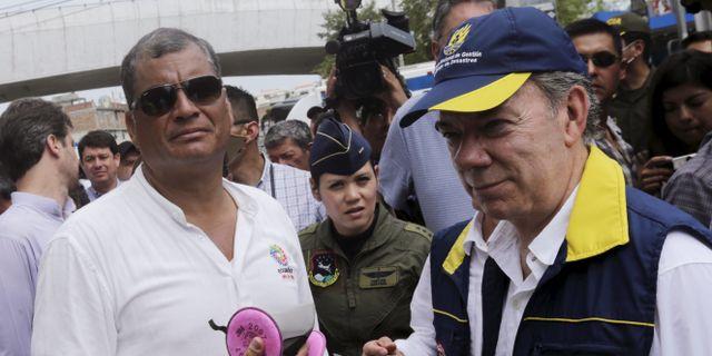 Colombia inleder nya fredssamtal