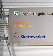 Gemensamt servicekontor för skatteverket, pensionsmyndigheten, och försäkringskassan i Sundbyberg. ANDERS WIKLUND / TT / TT NYHETSBYRÅN