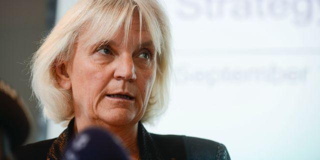 Telia Companys styrelseordförande Marie Ehrling Vilhelm Stokstad/TT / TT NYHETSBYRÅN