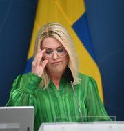 Socialminister Lena Hallengren (S) Fredrik Sandberg/TT / TT NYHETSBYRÅN