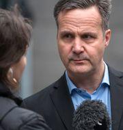 Mats Hagelin kommenterar domen. Thomas Johansson/TT / TT NYHETSBYRÅN