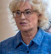 Christine Lambrecht. Michael Sohn / TT NYHETSBYRÅN