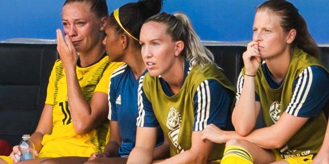 Fridolina Rolfö längst till vänster. PETTER ARVIDSON / BILDBYRÅN