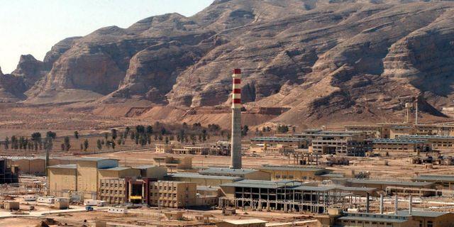 """En anläggning utanför den iranska staden Isfahan där uranformen """"yellowcake"""" konverteras till gasform. VAHID SALEMI / TT NYHETSBYRÅN"""