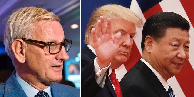Bildts oro for ryska upprustningen