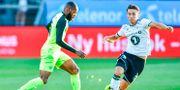 Bild från Celtic-Rosenborg ikväll. OLE MARTIN WOLD / NTB SCANPIX