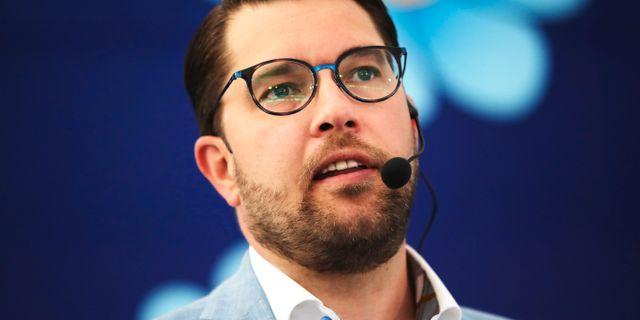 JImmie Åkesson (SD). Adam Ihse /TT / TT NYHETSBYRÅN
