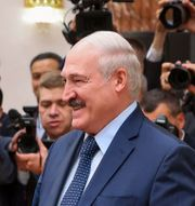 Belarus president Alexander Lukashenko. Maxim Guchek / TT NYHETSBYRÅN