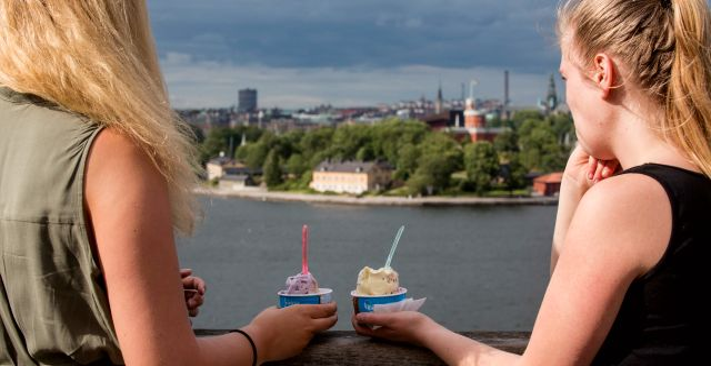 Illustrationsbild: Britter kan avskräckas från att turista i Stockholm, menar Stefan Westerberg, chefekonom på Stockholms Handelskammare. Christine Olsson/TT / TT NYHETSBYRÅN
