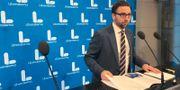 Liberalernas Fredrik Malm, arkivbild. Peter Wallberg/TT / TT NYHETSBYRÅN