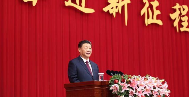 Xi Jinping. Arkivbild.  Ju Peng / TT NYHETSBYRÅN