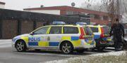 Polisinsatsen på platsen. Christine Olsson/TT / TT NYHETSBYRÅN