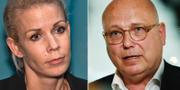 Anna König Jerlmyr (M) och Magnus Ranstorp. TT