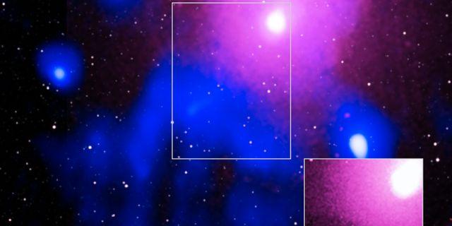 Explosionen i Ophiuchus galaxkluster. TT NYHETSBYRÅN