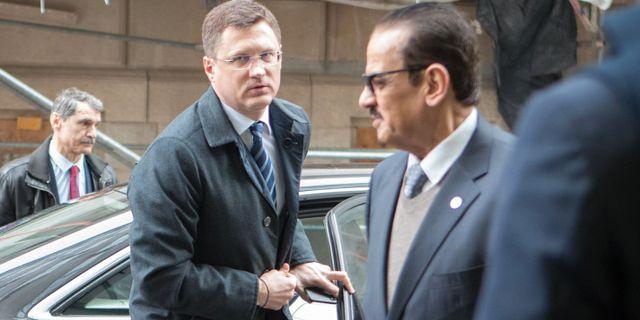 Arkivbild: Rysslands energiminister Alexander Novak.  ALEX HALADA / TT NYHETSBYRÅN
