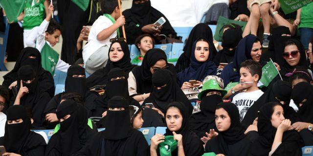 Från december 2018 kan turister åka till Saudiarabien för att titta på sportevenemang. Getty