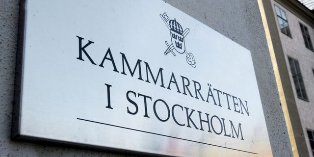 Kammarrätten i Stockholm. Arkivbild. BERTIL ERICSON