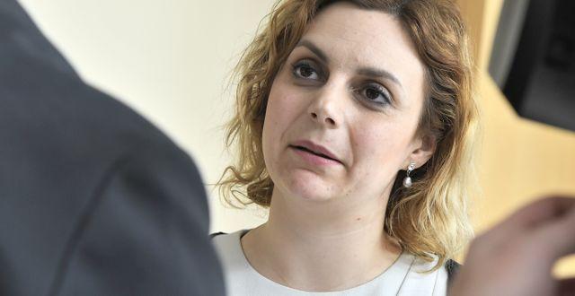 Paula Bieler.  Claudio Bresciani/TT / TT NYHETSBYRÅN