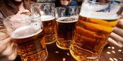I Prag serveras Europas billigaste öl.  Istock