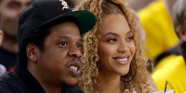 Jay Z och Beyoncé Marcio Jose Sanchez / TT / NTB Scanpix