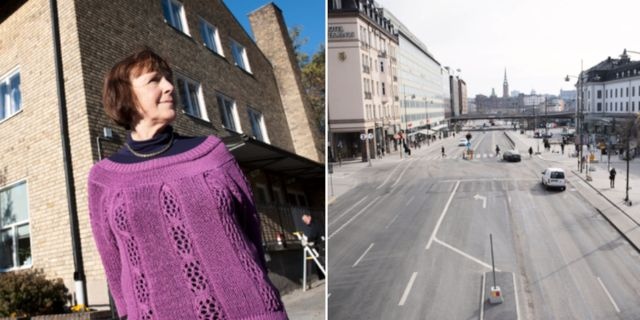 Linde, Stockholm i coronatid.  TT