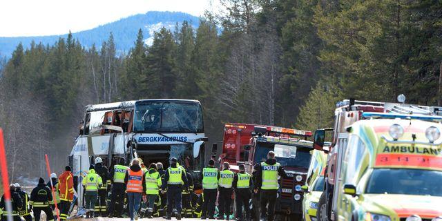 Migranter omkom i bussolyckor