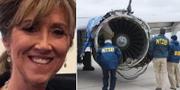 Piloten Tammie Jo Shults flög planet som var tvingades nödlanda i Philadelphia efter att ena motorn gått sönder.  Facebook  / TT