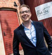 Fredrik Backman Johan Nilsson/TT / TT NYHETSBYRÅN