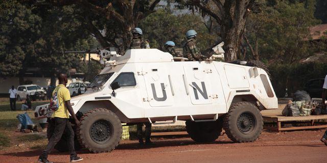 Illustrationsbild. FN-insats i Bangui, Centralafrikanska republikan. Lekan Oyekanmi / TT / NTB Scanpix