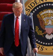 Donald Trump.  JONATHAN ERNST / TT NYHETSBYRÅN