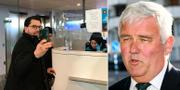 Jimmie Åkesson (SD) tar en selfie i passkontroll i Turkiet/Anders W Jonsson (C). TT