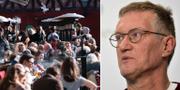 Uteservering / statsepidemiolog Anders Tegnell TT