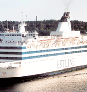 Hålet i fartygets skrov / Estonia DPLAY/TT