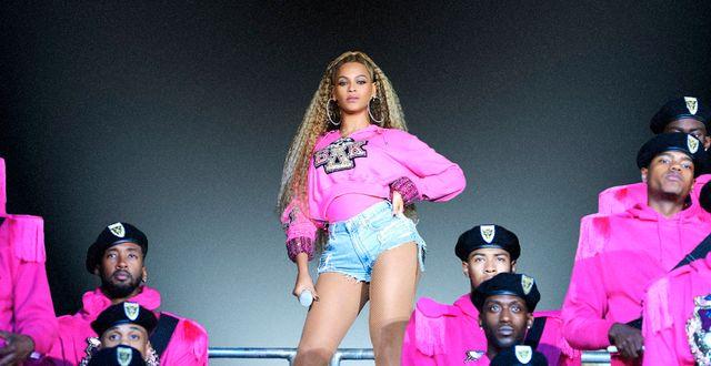 Världsstjärnan Beyoncé. Arkivbild. Parkwood Entertainment / TT NYHETSBYRÅN