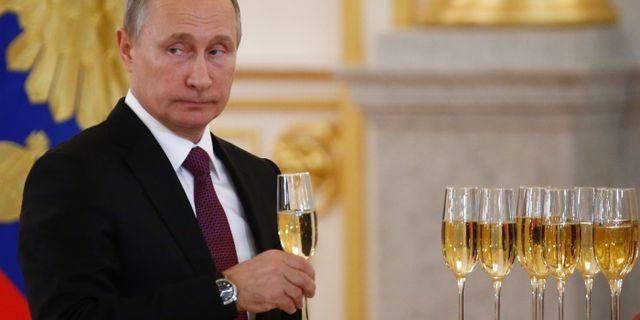 Vladimir Putin. SERGEI KARPUKHIN / POOL