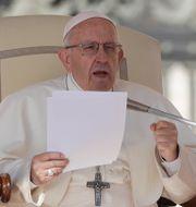 Påve Franciskus. Gregorio Borgia / TT NYHETSBYRÅN/ NTB Scanpix