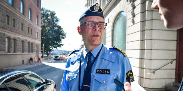 Rikspolischefen Anders Thornberg. Stina Stjernkvist/TT / TT NYHETSBYRÅN