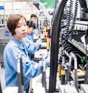 Ericsson-fabrik i Kina. Arkivbild. Magnus Hjalmarson Neideman/SvD/TT / TT NYHETSBYRÅN